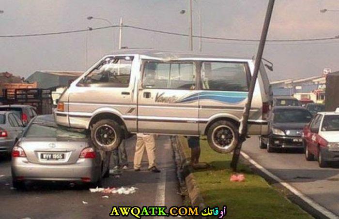 حادث عجيب