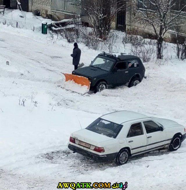 حل سحري لمشكلة الثلوج