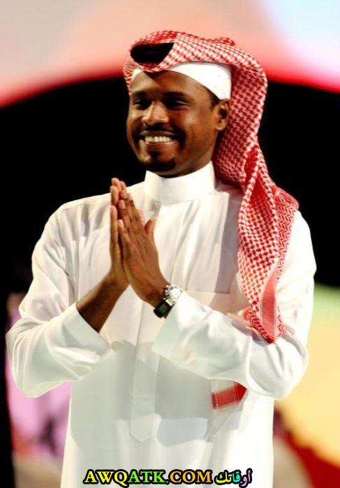 أحدث صورة للفنان السعودي راشد الفارس
