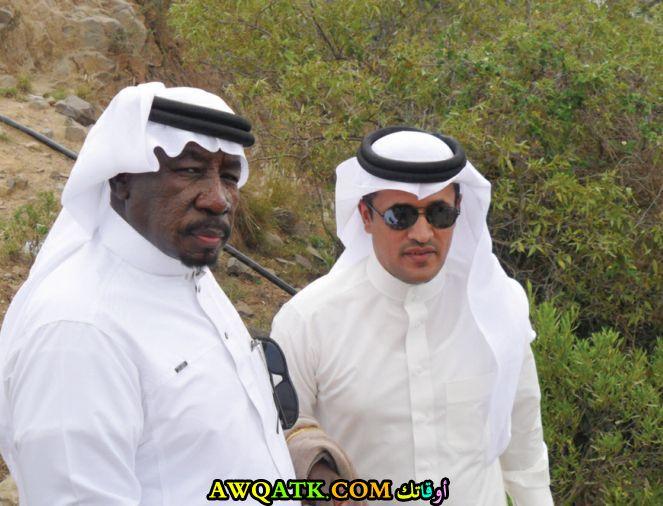 أحدث صورة للفنان السعودي سعد خضر