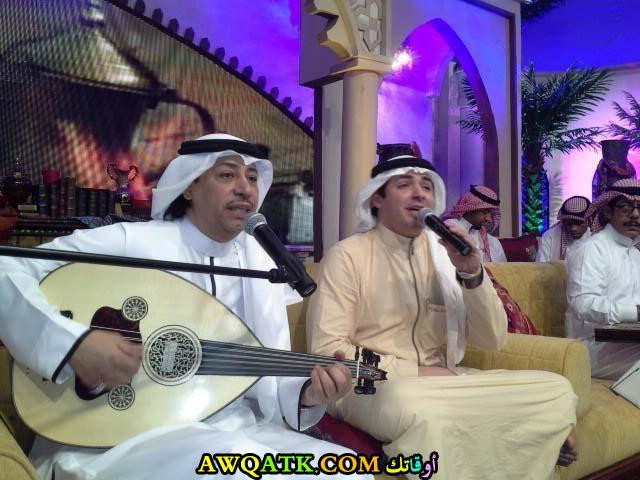 أحدث صورة للفنان السعودي عبد الله رشاد