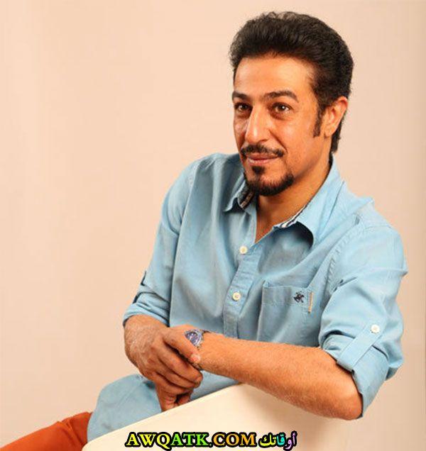 أحدث صورة للفنان السعودي عبد المحسن النمر