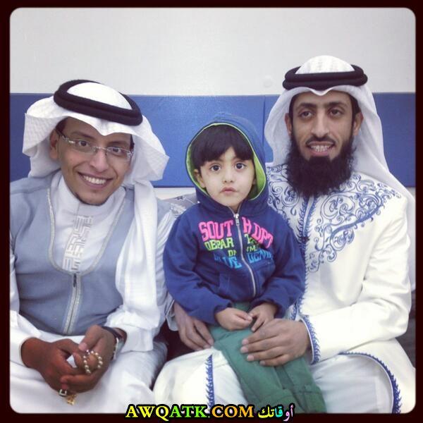 أحدث صورة للفنان السعودي عيد سعود