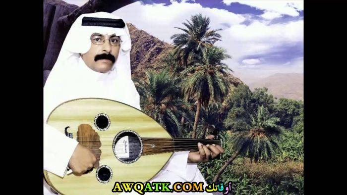 صورة جديدة للنجم السعودي فنان الديرة
