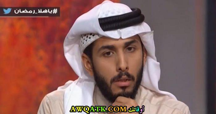 أحدث صورة للفنان السعودي فهد التيري