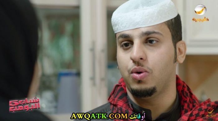 أحدث صورة للفنان السعودي فيصل العيسى