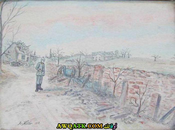 لوحة للحرب