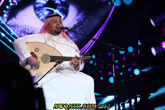 أحدث صورة للفنان السعودي ماجد المدني