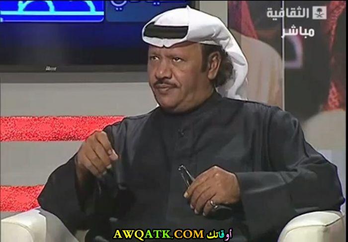 أحدث صورة للفنان السعودي محمد المنصور