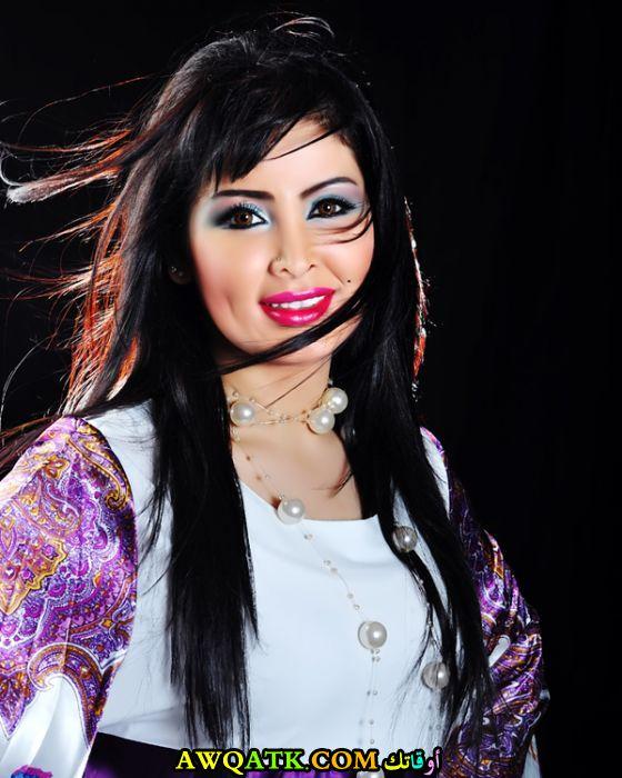 أحدث صورة للفنانة السعودية مروة محمد