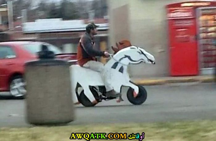 موتوسيكل على شكل حصان