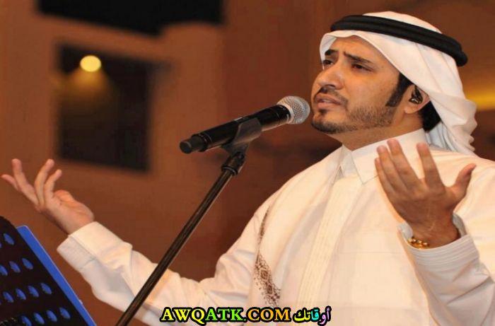 أحدث صورة للفنان السعودي نايف البدر