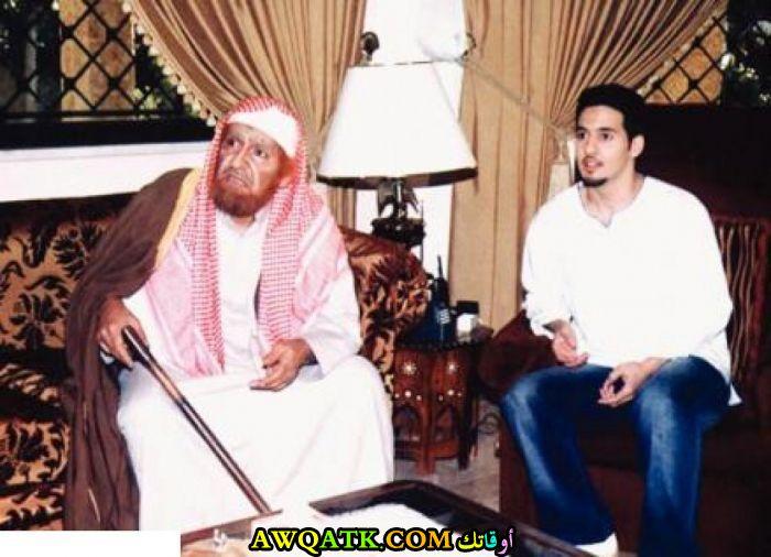 أحدث صورة للفنان السعودي نواف الجابر