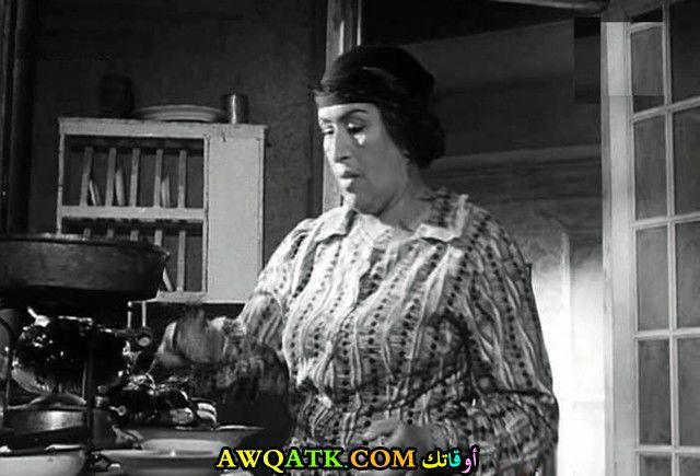صورة قديمة للممثلة آمال زايد