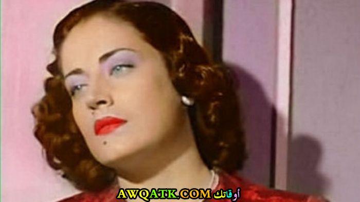 بوستر الفنانة المصرية أسمهان