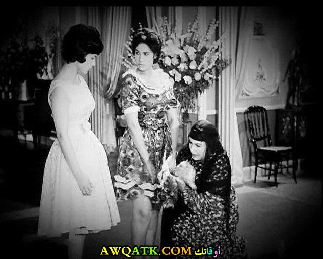 صورة قديمة للممثلة أمينة رزق