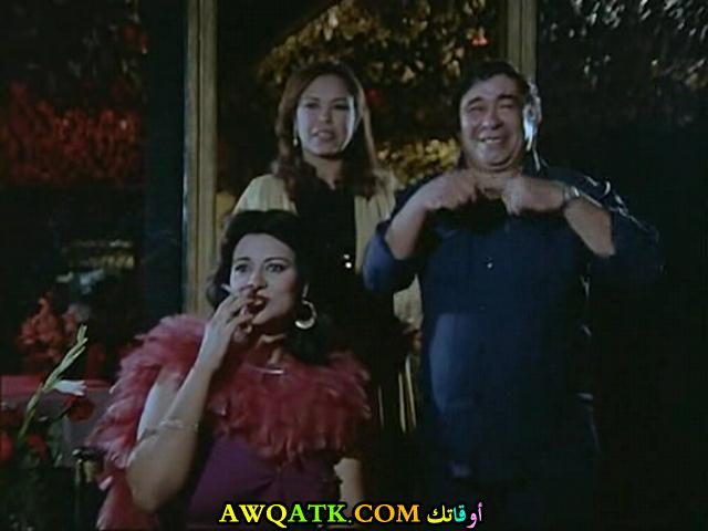 صورة الفنانة المصرية بدرية عبد الجواد داخل عمل