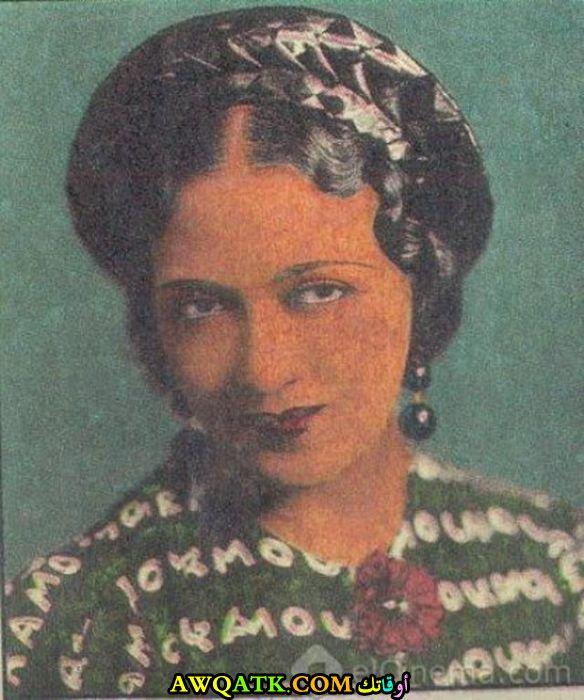 بوستر الفنانة المصرية بهيجة حافظ