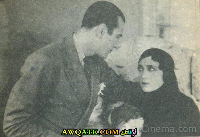 صورة قديمة للممثلة بهيجة حافظ