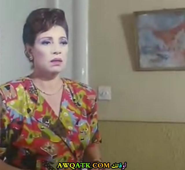 صورة قديمة للممثلة رجاء حسين