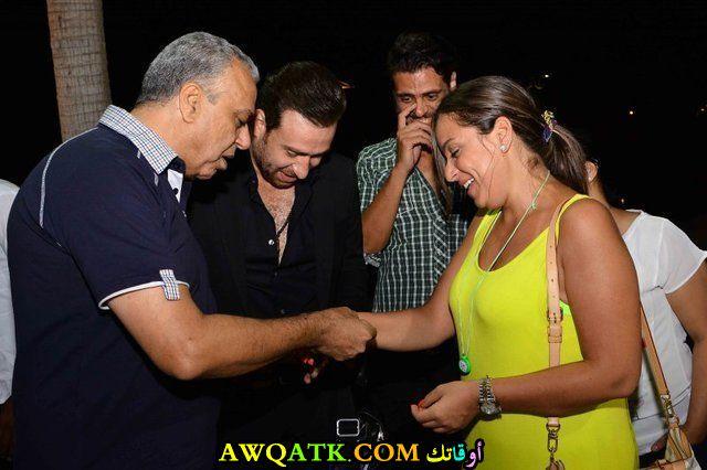 صورة جديدة للنجمة المصرية ريم البارودي
