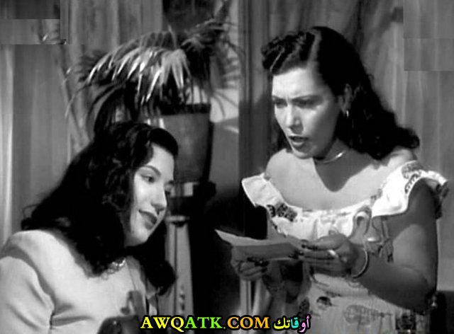 صورة قديمة للممثلة سميحة أيوب