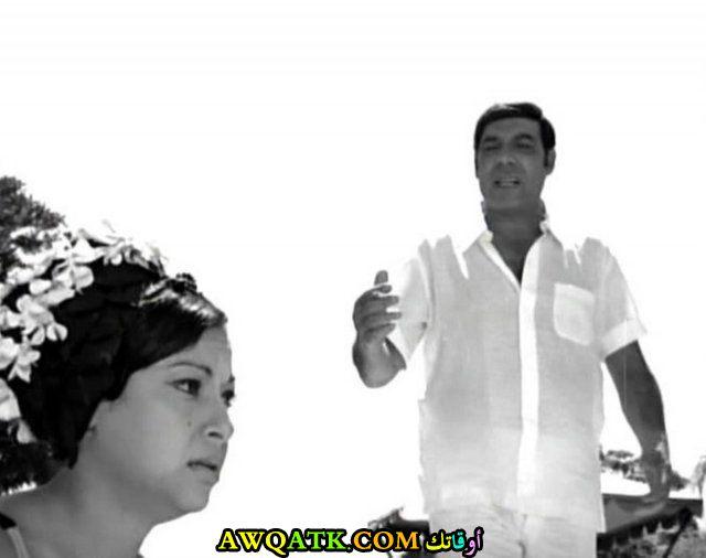 صورة الفنانة المصرية سهام فتحي داخل عمل