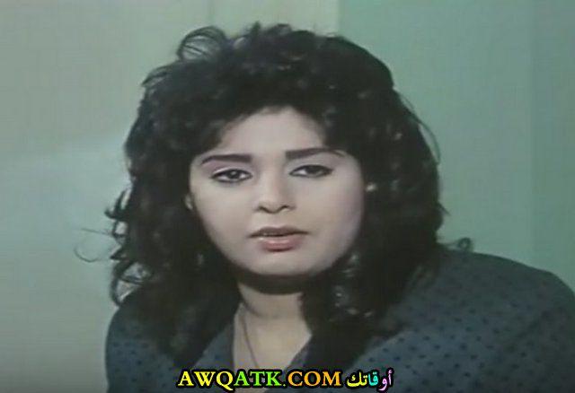 صورة قديمة للممثلة صابرين