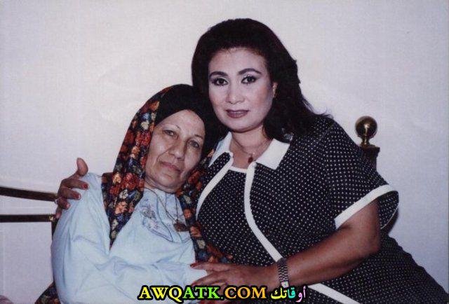 صورة قديمة للممثلة عواطف حلمي