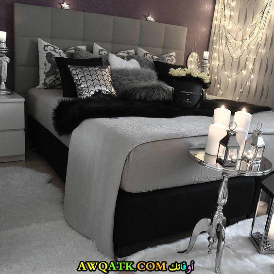 غرف نوم أسود في فضي 2017