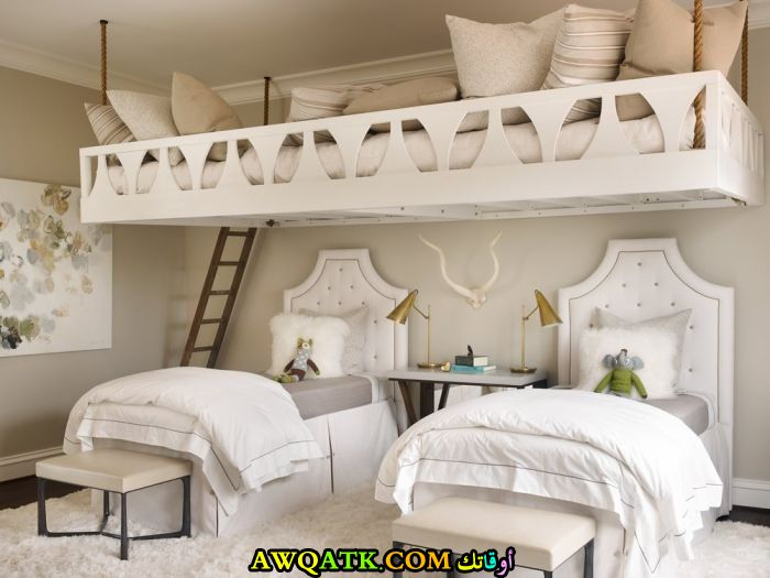 غرفة نوم في منتهي الجمال