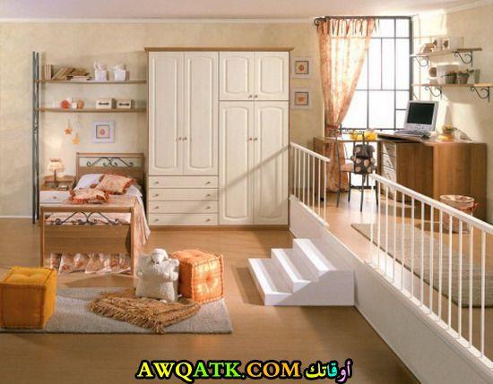 غرفة نوم جميلة جداً للأطفال