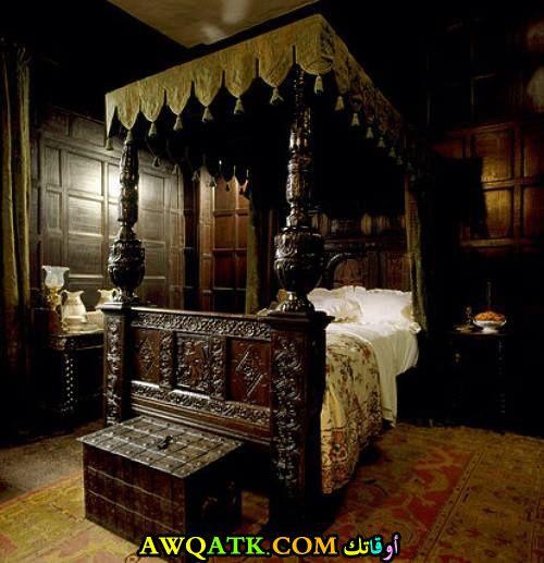 غرفة نوم علي طراز قديم روعة