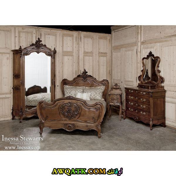 غرفة نوم أنتيك شيك وروعة