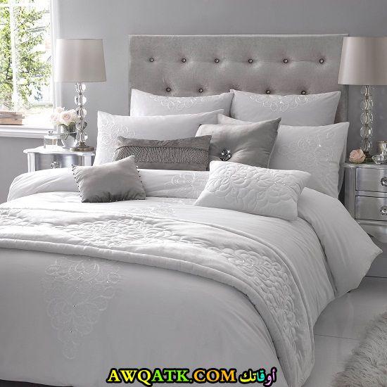 غرف نوم أبيض في فضي