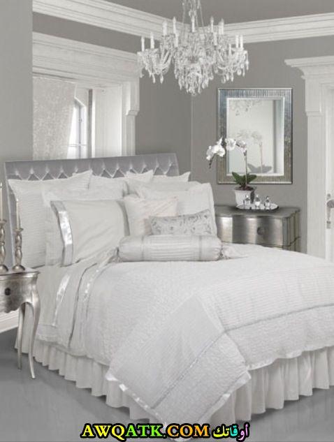Matrimonio Bed Linen : غرف نوم أبيض في فضي