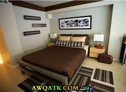 غرفة نوم بسيطة شيك جداً