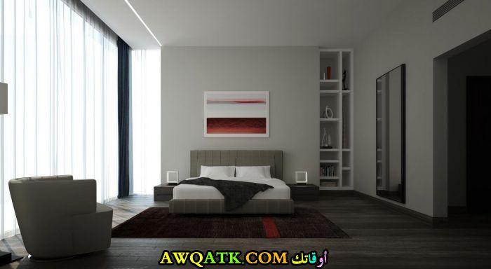 غرفة نوم بسيطة وروعة