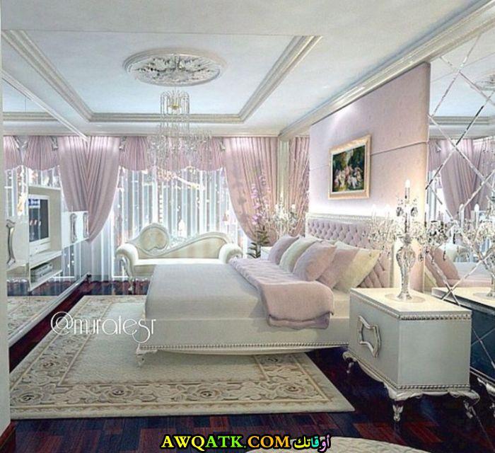 غرفة نوم روعة ووجميلة