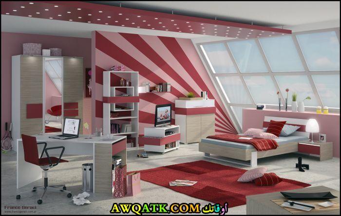 غرفة نوم شيك وجديدة للبنات
