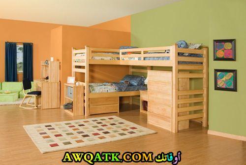 غرفة نوم أطفال خشب شيك