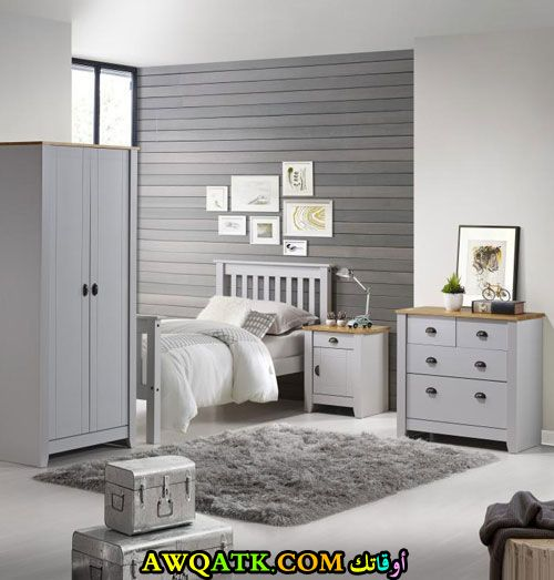 غرفة نوم خشب للأطفال روعة