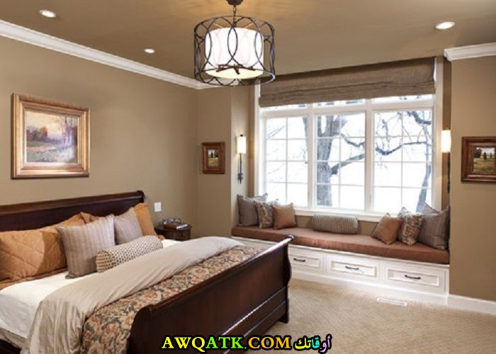 غرفة نوم كابيتونيه شيك جداً