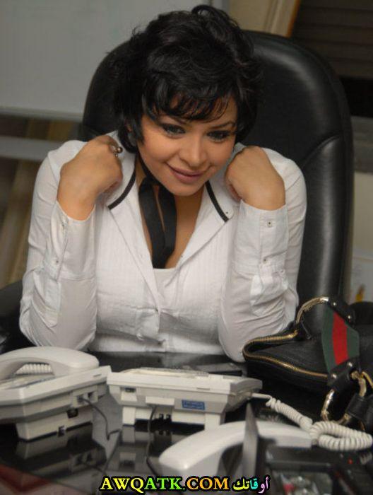 أحدث صورة للفنانة المصرية لمياء طارق