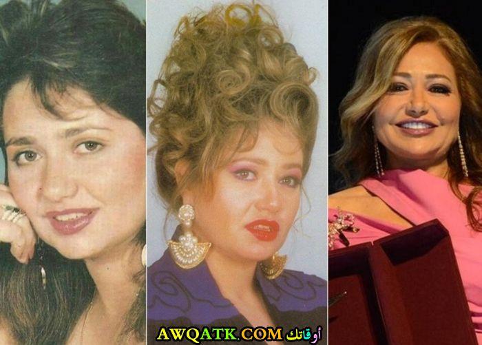 صورة مجمعة جميلة للفنانة المصرية ليلى علوي