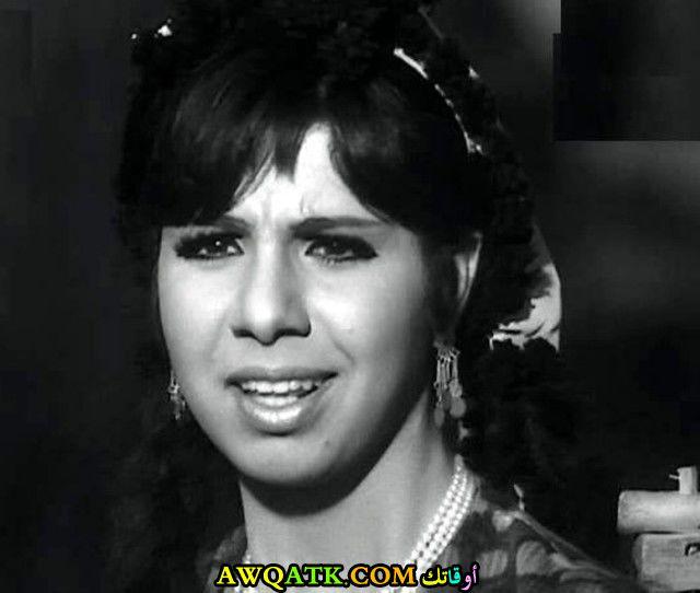 صورة قديمة ورائعة للنجمة المصرية مديحة حمدي