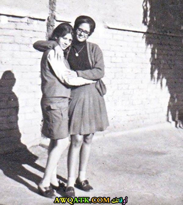 صورة قديمة ورائعة للنجمة المصرية معالي زايد