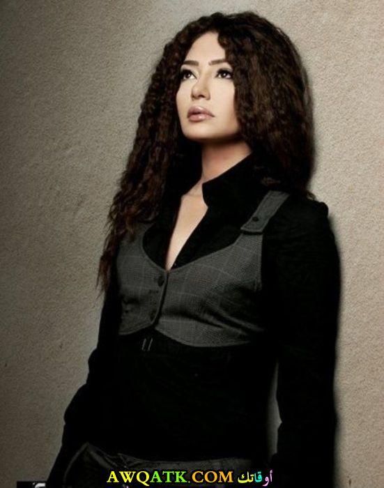 صورة قديمة للممثلة ميرنا المهندس
