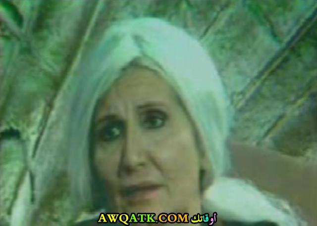 صورة قديمة للممثلة نادية رفيق
