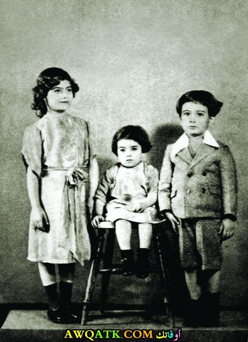 صورة قديمة ورائعة للنجمة المصرية نجاة الصغيرة